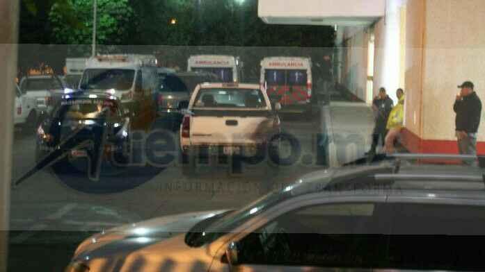 Agentes de la Policía Michoacán hicieron un operativo en la zona para tratar de dar con los agresores pero sin resultados positivos