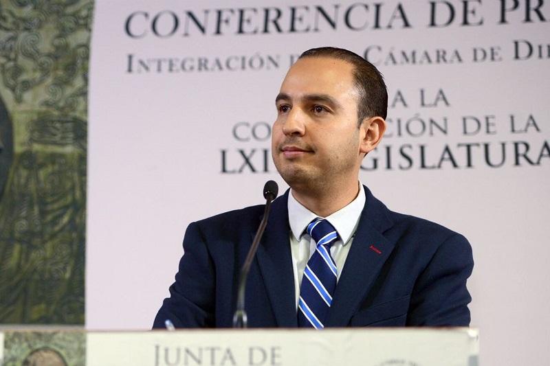 Acción Nacional deberá convocar a la sociedad organizada y partidos políticos de oposición para la defensa de las instituciones y la democracia en México: Marko Cortés