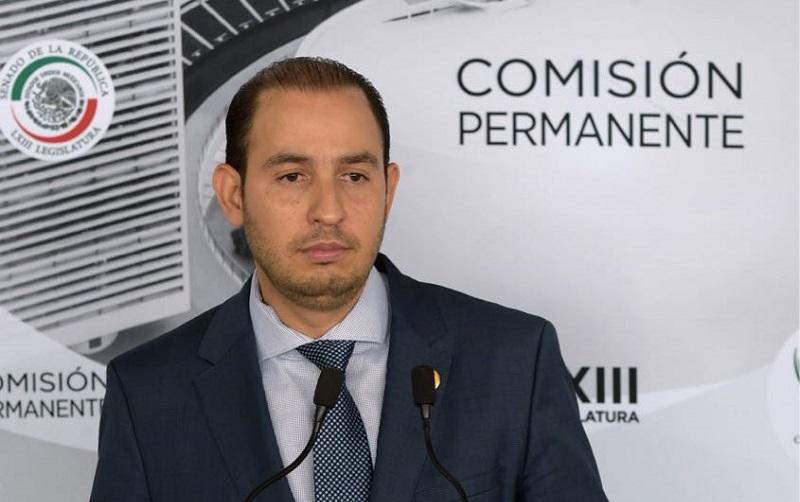 Quiero ser el candidato de los militantes del PAN; tengo una larga trayectoria en el partido: Marko Cortés