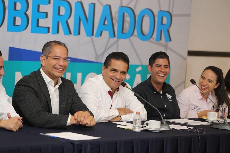 """""""Mi mayor sueño es transformar a Michoacán, iniciar otra etapa en la vida del Estado"""", expresó el mandatario Silvano Aureoles"""