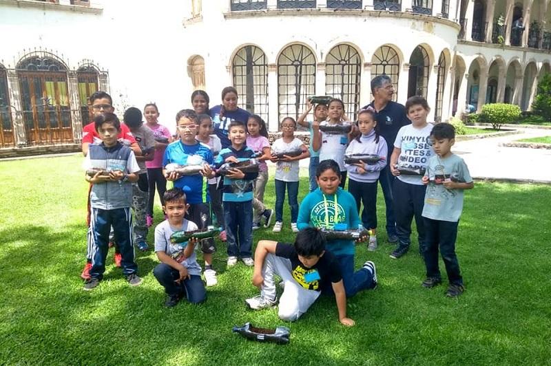 Participaron 200 niñas y niños de Morelia