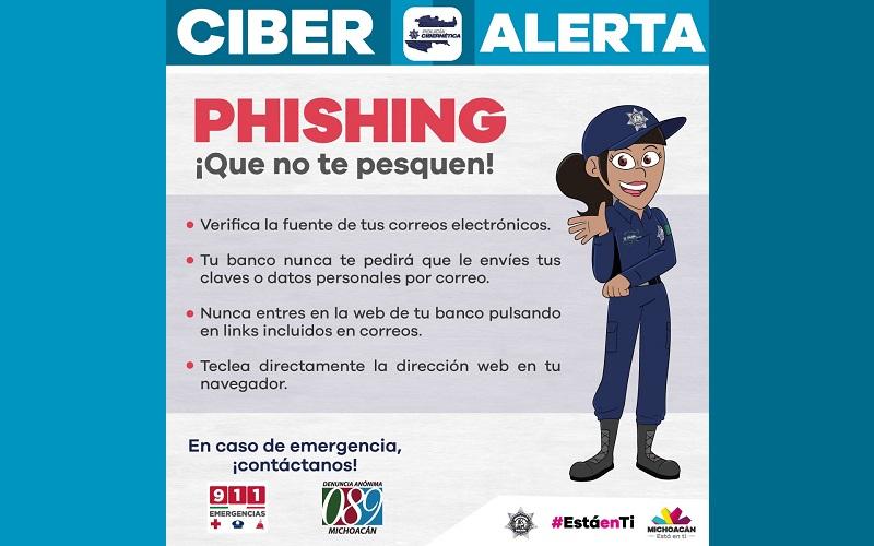"""El delito inicia cuando el cibercriminal conocido como """"phisher"""" se adjudica algún puesto de trabajo en una organización bancaria y hace contacto aparentemente oficial por medio de un correo electrónico con la víctima"""