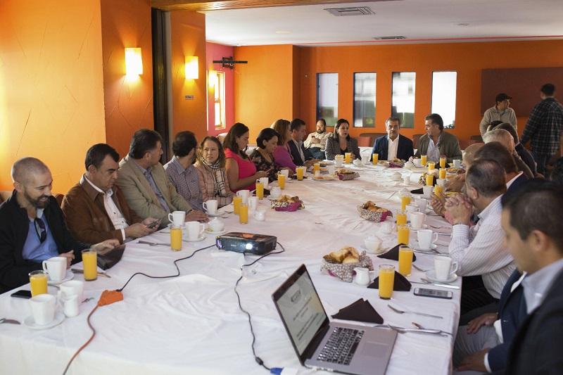 Morón Orozco destacó que la participación de los empresarios será fundamental para impulsar acciones que permitan detonar las vocaciones productivas de Morelia