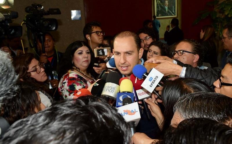 Cortés Mendoza dijo que ante la nueva realidad política del país, se requiere que Acción Nacional esté a la altura que requiere México, como una oposición fuerte, unida y responsable