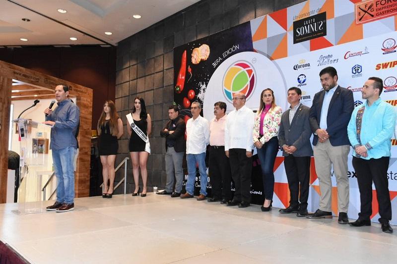 Así lo externó el secretario de Desarrollo Económico, Jesús Melgoza Velázquez, durante la inauguración de la Expo Restaurante Canirac 2018