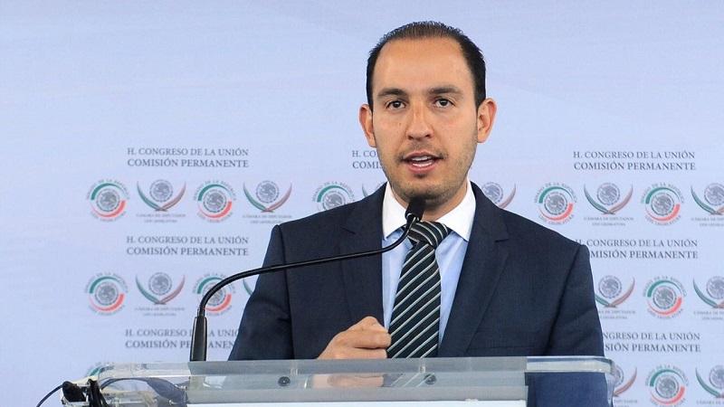 Garantizar derechos y libertades de todos los mexicanos, así como proteger las instituciones, el equilibrio de poderes y la democracia, serán nuestras prioridades: Marko Cortés
