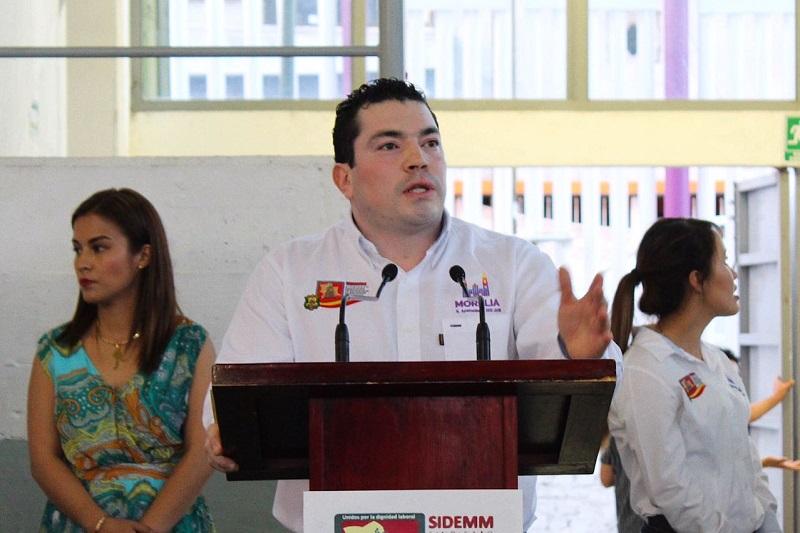 Ernesto Santamaría recordó que con esta libertad sindical, quienes busquen una nueva opción que los represente podrán cambiarse sin perder uno solo de los beneficios conquistados como sucedía anteriormente