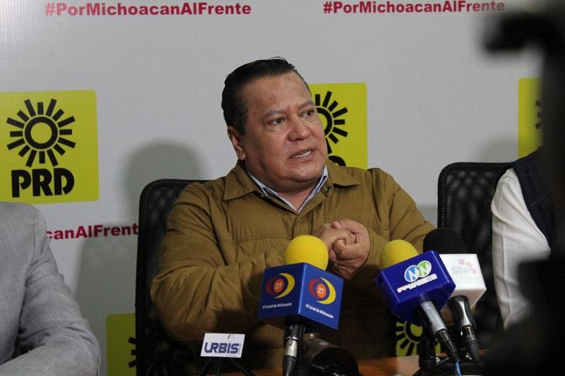 García Avilés se pronunció para que los Foros de Pacificación que organiza Morena tengan el impacto deseado en Michoacán