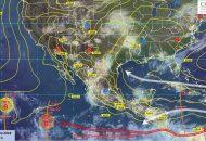 A partir del miércoles, se prevé un evento de mar de fondo en las costas del Pacífico mexicano, con oleaje de 2 a 3 m de altura, desde Chiapas hasta Jalisco
