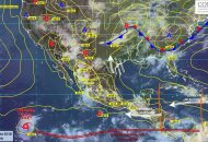La nueva onda tropical No. 28, sobre el occidente del Mar Caribe, se aproximará a la Península de Yucatán