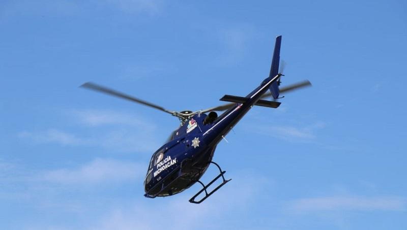 Por tierra y aire las labores de campo continúan para localizar las otras unidades que fueron robadas de la agencia, al igual que a más implicados en el ilícito