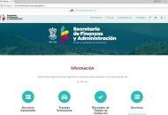 Toda la información de servicios y trámites reunida en el portal www.secfinanzas.michoacan.gob.mx