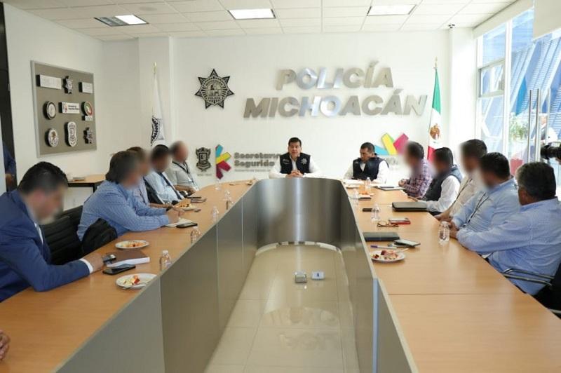 La coordinación es clave para inhibir hechos delictivos en todo el territorio michoacano
