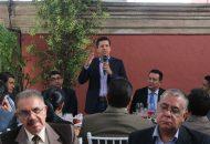 Toño García manifestó que en él tendrán un aliado para todos los veterinarios, que ayudará también en su formación, pues recalcó que tiene la responsabilidad como servidor público de coadyuvar en el rescate de la Universidad Michoacana