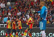 Victoria que coloca a La Monarquía en los primeros peldaños del Apertura 2018, mientras que los tapatíos siguen sin anotar gol en la campaña