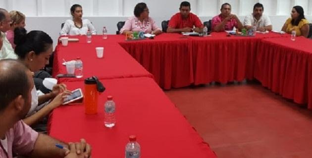 Vargas Medina señaló que durante la sesión de trabajo, entre otros acuerdos, se fijó que del 26 al 28 de octubre se realizará la Expo Tortuga 2018