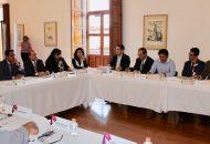 El subsecretario de Enlace Legislativo y Asuntos Registrales, Daniel Moncada, expresó el compromiso que tiene la actual administración estatal en fortalecer el Sistema Nacional de Información Estadística y Geográfica