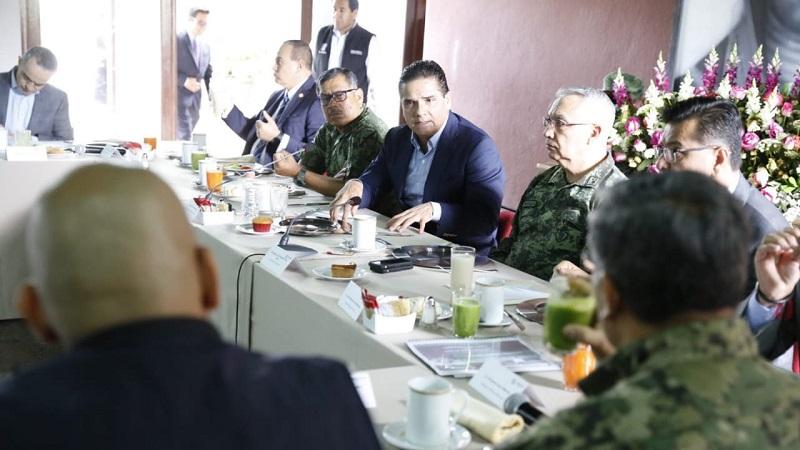 En reunión de trabajo encabezada por el gobernador Silvano Aureoles, autoridades revisaron los avances en las primeras tres semanas de acciones