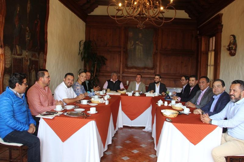 Inician reuniones para construir agenda legislativa 2018-2021
