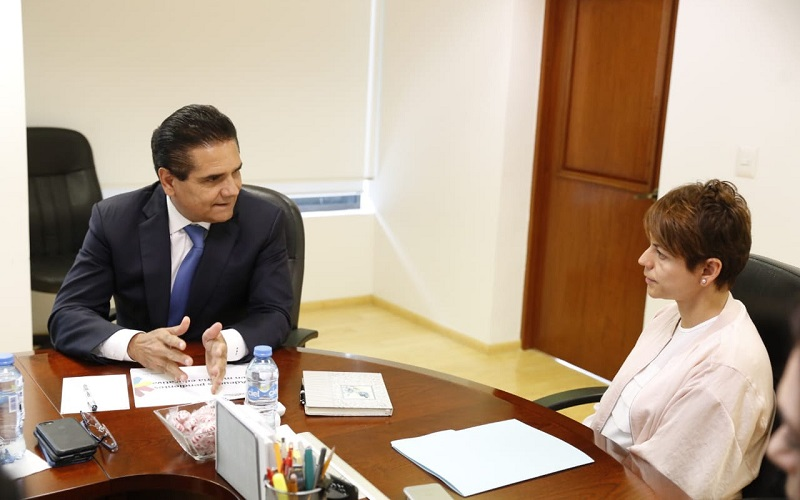 Continúa Silvano Aureoles gestiones ante la SHCP, para ampliar la liquidez del Estado y por ende, ampliar las acciones de Gobierno