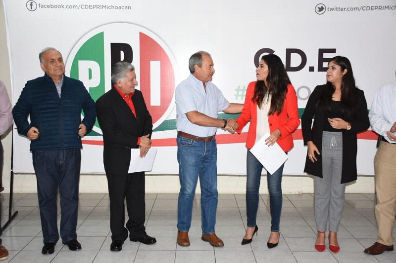 PRI celebra el fallo emitido por el Tribunal Electoral del Estado de Michoacán
