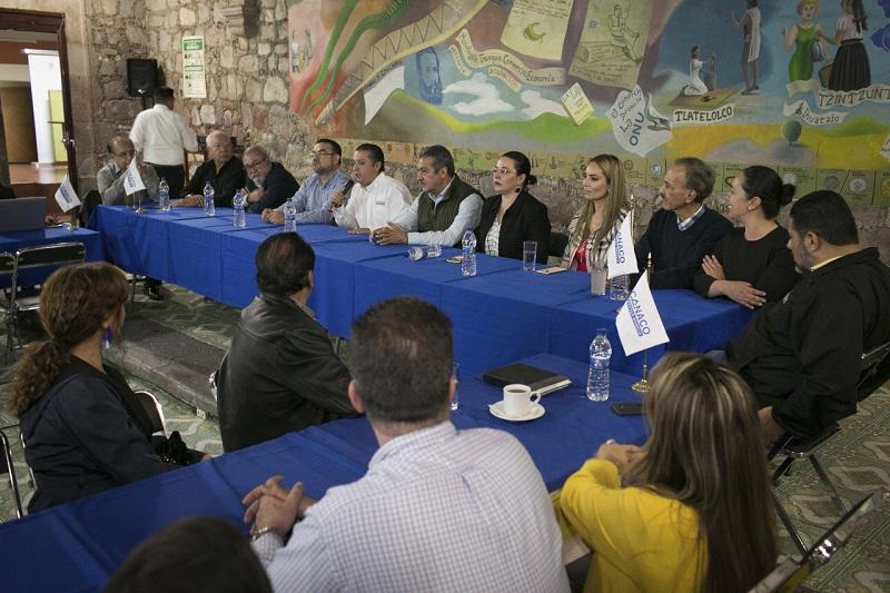 Morón Orozco anunció que el lunes dará a conocer los nombres de algunos de los integrantes de su gabinete municipal