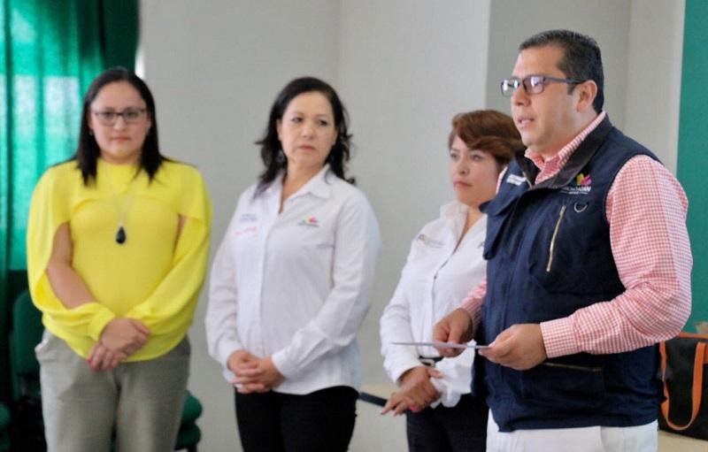 Barragán Vélez dijo sentirse orgulloso de la respuesta del personal de base, de estructura y el de confianza