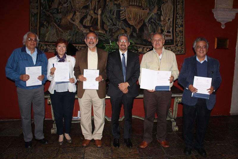 Miércoles 29 de agosto, ceremonia de entrega de la distinción a cinco académicos universitarios, confirma el rector Medardo Serna