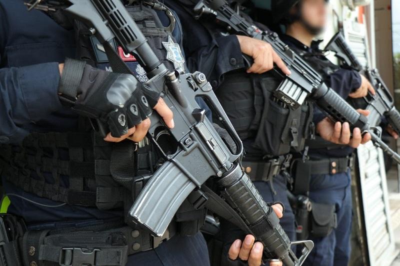 En la lucha por inhibir el aprovechamiento ilícito de los recursos naturales, la Unidad Ambiental de la Policía Michoacán aseguró 210 rollos de madera