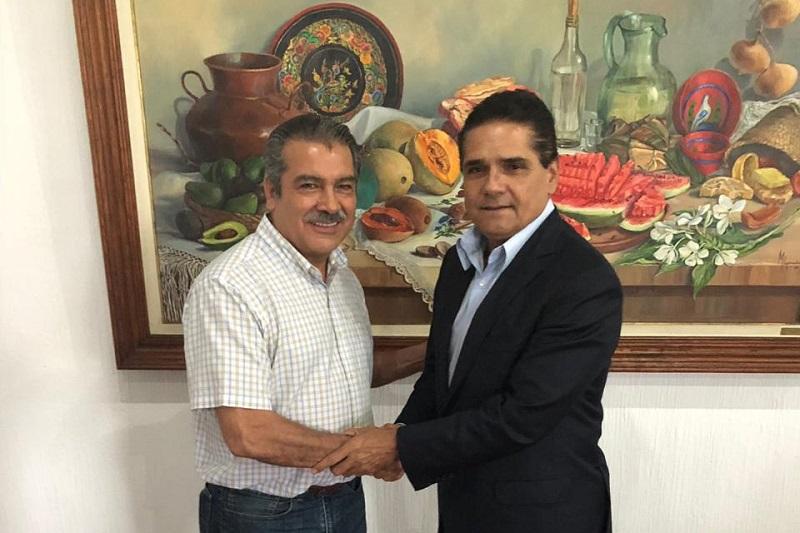 Morón Orozco reiteró que su futura administración trabajará de forma abierta con el Gobierno estatal y aprovechó para invitarlo a su toma de protesta el próximo sábado 01 de septiembre en la Plaza Jardín Morelos