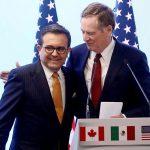 Al confirmar el acuerdo, el presidente Trump dijo que ahora comenzaría a llamar al acuerdo uno con México, deshaciéndose del nombre del TLCAN