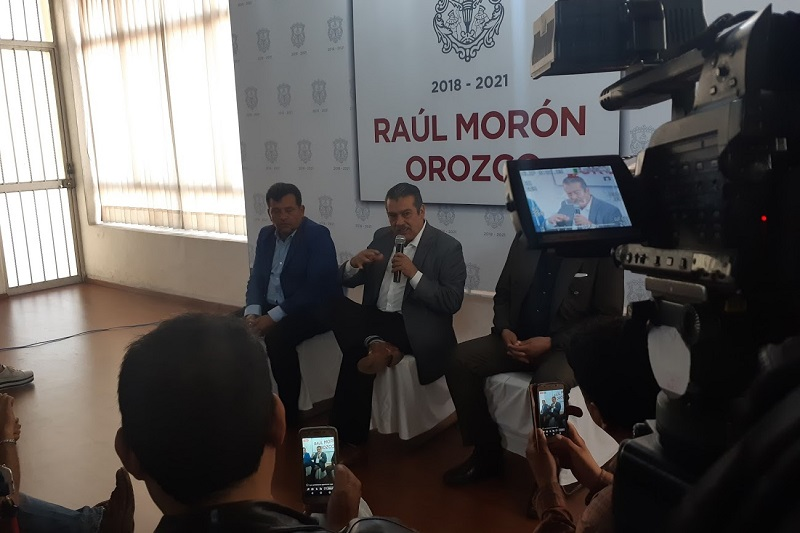Morón Orozco anunció que en unos días más dará a conocer la segunda parte de su equipo cercano de trabajo