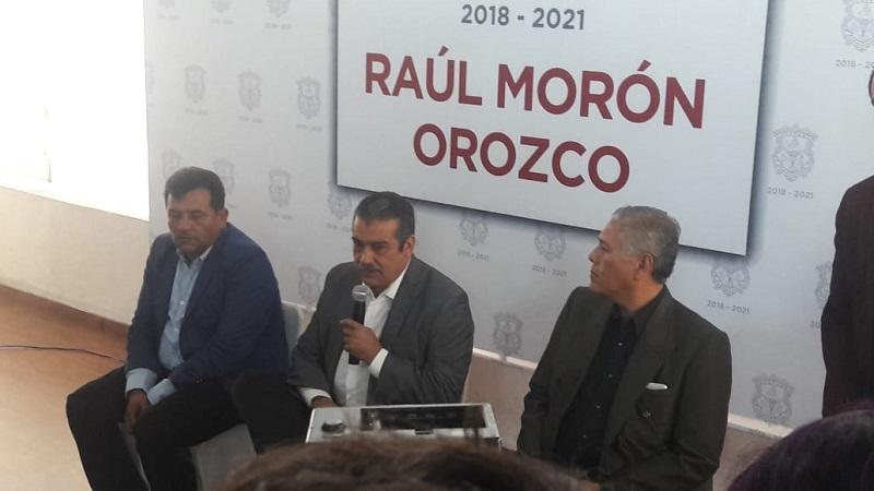 Morón Orozco agregó que a pesar de que algunos trabajadores terminan su contrato, se revisará su situación pero no habrá trabajadores despedidos, además de que su administración, está obrando de buena fe (FOTO: ABUNDIO MOLINERO)