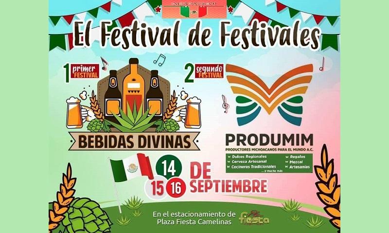 El estacionamiento de Plaza Fiesta Camelinas, será el escenario donde se llevará a cabo la Exposición, Degustación y Venta. Las fechas: el 14, 15 y 16 de septiembre dentro del marco de los festejos patrios.