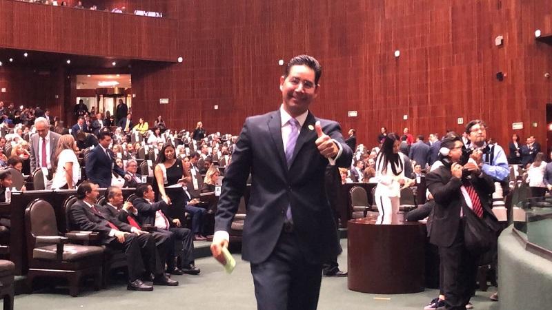 Los morelianos y michoacanos tendrán una curul cercana y trabajando en el Congreso de la Unión: Pérez Negrón Ruiz