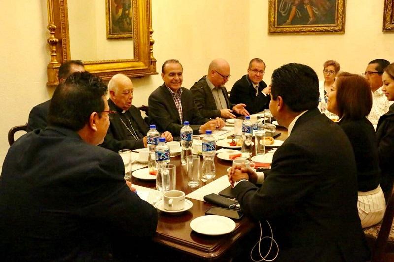 Los religiosos expresaron su disposición para coadyuvar con el Estado en la atención de las problemáticas sociales