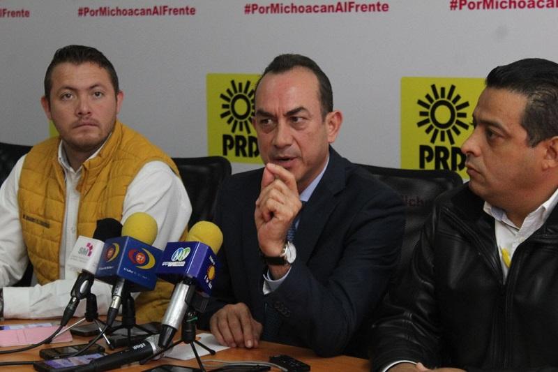Con esto se confirma que el PRD gobernará 50 municipios con la coalición Por Michoacán al Frente y candidaturas comunes de los cuales 33 son de candidatos puros del Sol Azteca