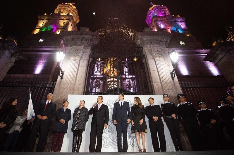 """Raúl Morón aseveró que se """"va a preservar esta visión de modelo de policía, no vamos a firmar el Mando Único, pero vamos a tener coordinación con las autoridades estatales y con el próximo gobierno federal que encabezará Andrés Manuel López Obrador"""""""