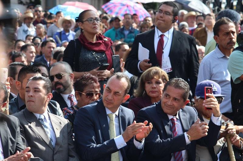 Soto Sánchez hizo un llamado a las autoridades electas para que ahora que entran en funciones hagan suyas las necesidades de la ciudadanía y que gobiernen con los ideales de una izquierda progresista