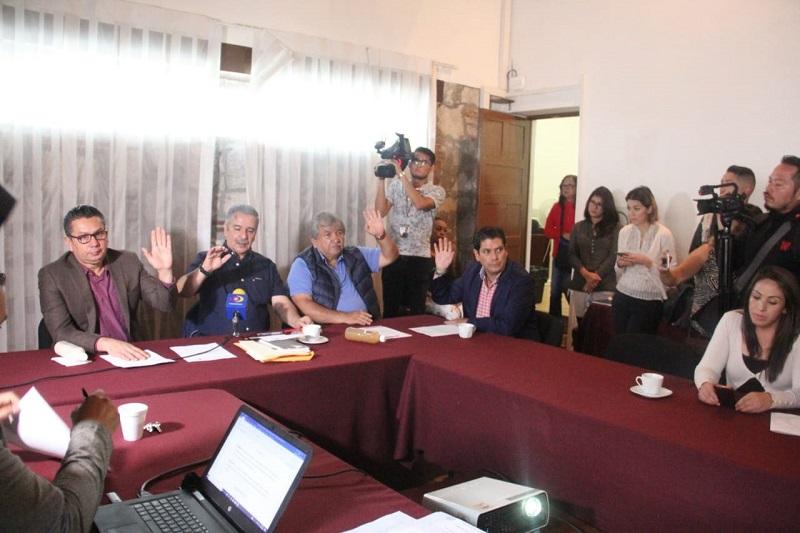 Ángel Cedillo refrendó el compromiso del Congreso del Estado con el desarrollo y progreso del estado, abonando a la gobernabilidad de la entidad, al dar certeza al municipio y ciudadanos