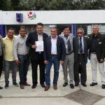 José Sánchez Medina, agradeció al presidente municipal la oportunidad que le confiere para mantener en buen estado la dependencia, así como el impulso de proyectos que pongan en alto el deporte en el municipio