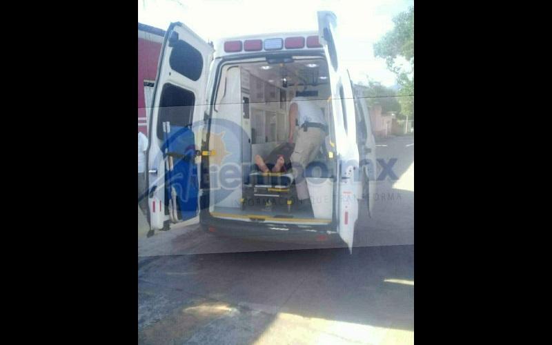 Elementos de la Policía Michoacán se hicieron cargo de realizar el peritaje y hacerse cargo del conductor para deslindar responsabilidades