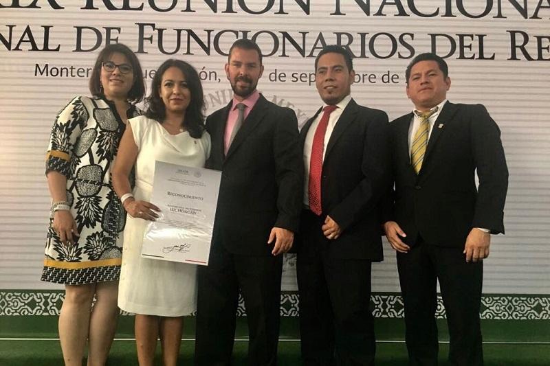 La directora del Registro Civil, Teresa Ruiz Valencia, participa en la XXXIX Reunión del Consejo Nacional de Funcionarios del Registro Civil
