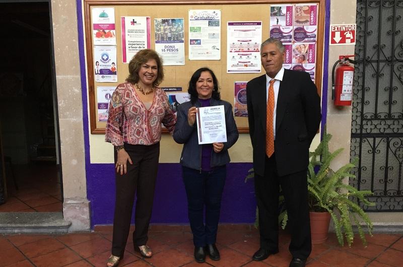Titular del IMUMO trabajará de manera responsable en la prevención de la Violencia de Género
