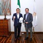 El mandatario michoacano refrendó todo el acompañamiento del Gobierno del Estado para trabajar a favor del impulso al deporte en general, en cada uno de los rincones de Michoacán