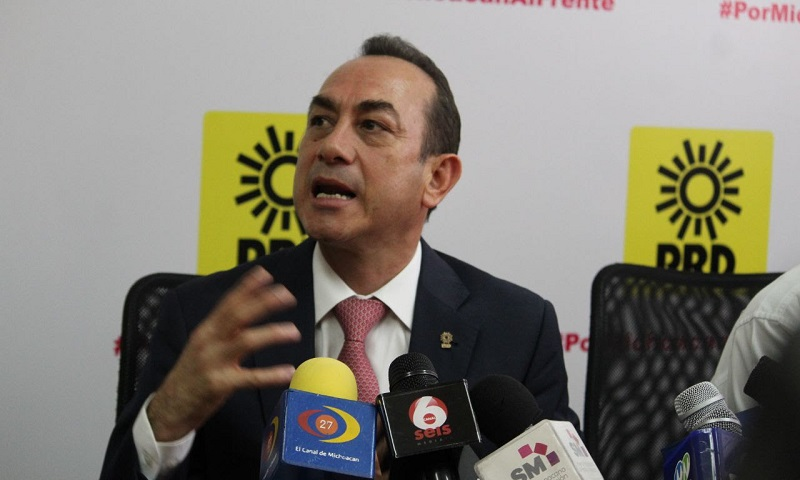 """""""Tenemos que desprendernos de los colores por el bien y la seguridad, que si bien hay mucho que hacer tenemos que reconocer los resultados arrojados por el Mando Único en Michoacán"""": Soto Sánchez"""
