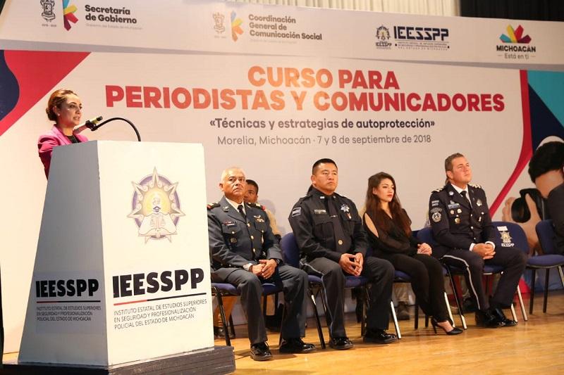 Desde la GCCS y el IEESSPP ya se trabaja en la segunda etapa del curso: Julieta López