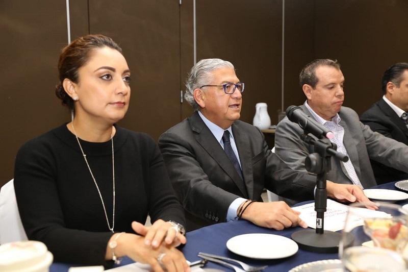 Comparte titular de la SFA, Carlos Maldonado alcances y retos en materia financiera
