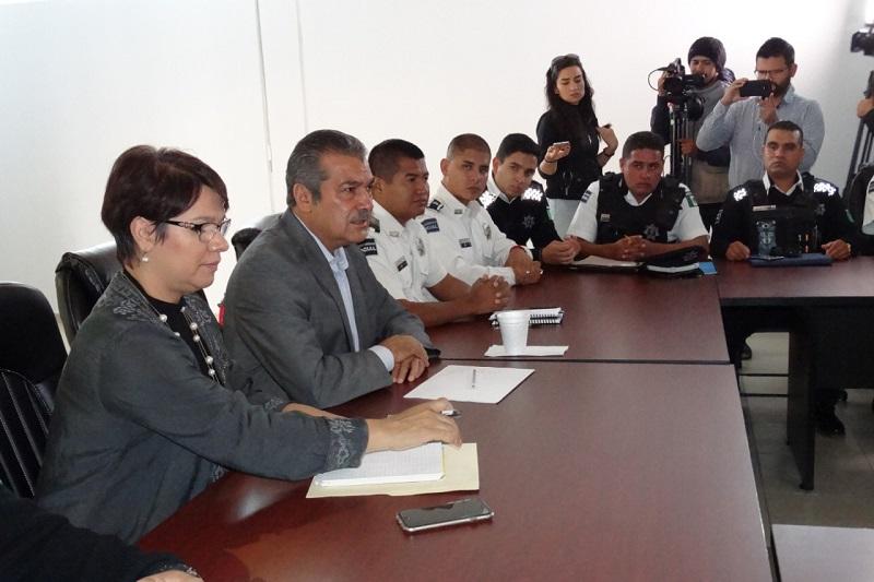 Raúl Morón pidió sensibilidad en el trato de la ciudadanía y promover los valores cívicos, así como lo que marca el Reglamento de Tránsito y Vialidad del Municipio
