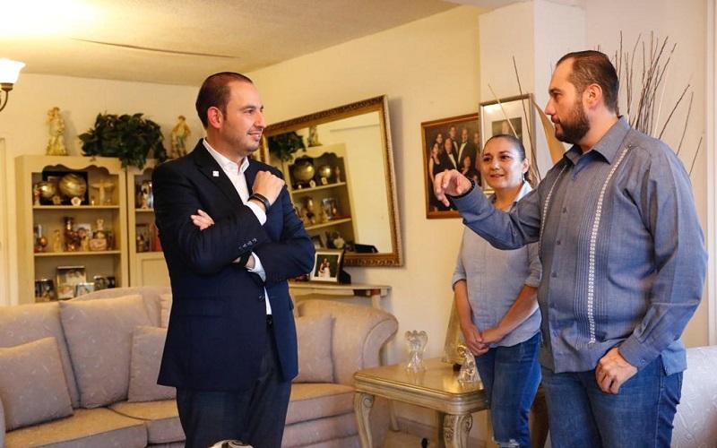 Marko Cortés reiteró su intención de que una vez que sea Presidente Nacional con el voto de los panistas, el próximo año piensa instalarse en Baja California para apoyar el trabajo del PAN en el estado, para conservar la gubernatura que mantiene el partido desde hace 29 años
